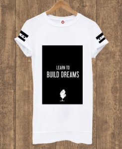 Camiseta Alongada Dreams
