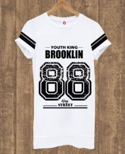 Camiseta Alongada Brooklin