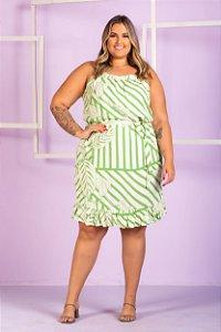 Vestido Estampado Gabriela Plus Size