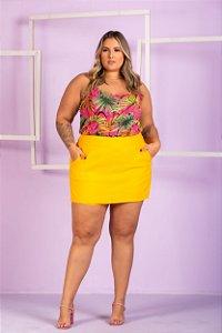 Short Saia Julie Plus Size