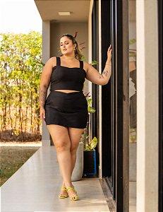 Short Saia Anita Plus Size