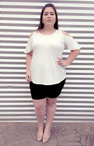 Blusa Beauty com Ombro Vazado