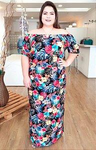 Vestido Longo Premium Plus Size