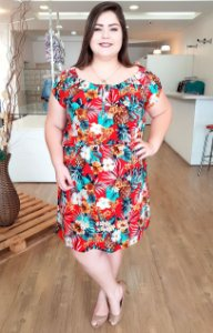 Vestido Ciganinha Fashion Plus
