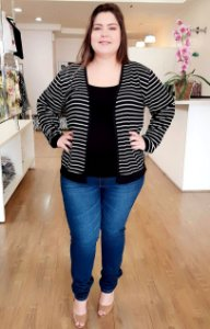 Cardigan Londres Plus Size