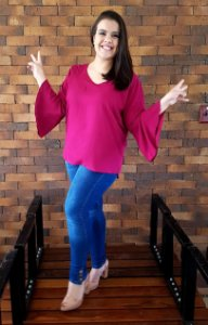Blusa Clean Love Plus Size
