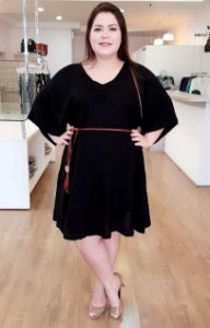 Vestido Cloe Black Plus Size