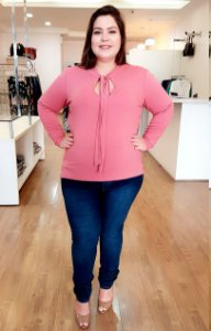 Blusa Bella City Plus Size