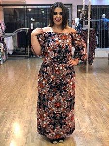 Vestido Longo Atlanta Plus Size