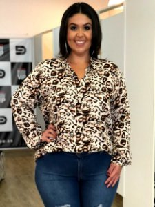 Camisa Love Sweet Animal Print