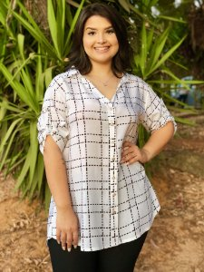 Camisa New York Plus Size