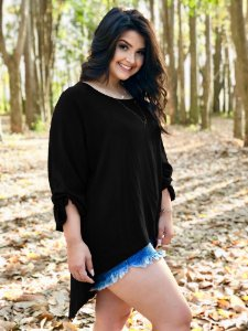 Blusa Bella Plus Size