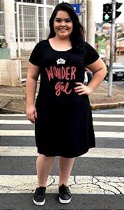 Vestido Wonder Girl Red Plus Size
