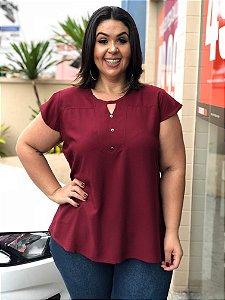 Blusa Megan Plus Size - Marsala
