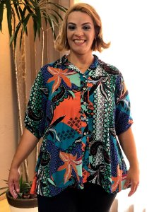 Camisa Califórnia Plus Size