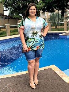 Camisa Pool Beach com Botões