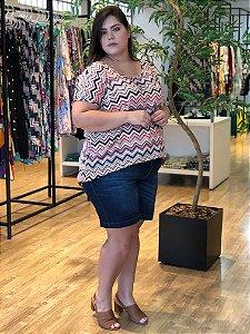 Blusa Casual Wave Plus Size