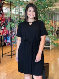 Vestido Black Confort Plus Size