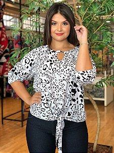 Blusa Target Animal Print Plus Size