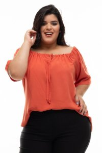 Blusa Roof Plus Size