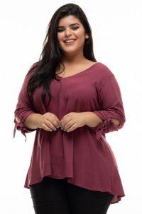 Blusa Trends Plus Size