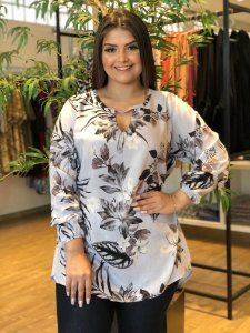 Blusa Level Plus Size