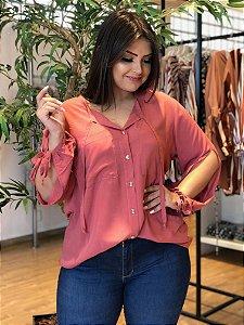 Camisa Delicat Rosê Plus
