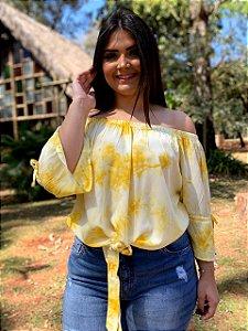 Blusa Tie Dye Amarelo