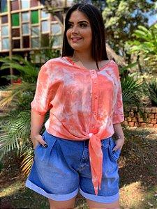 Blusa Tie Dye Coral