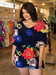 Blusa Cat Plus Size