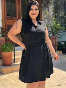 Vestido Office Plus Size