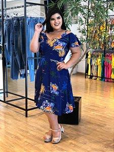 Vestido Vitória Bllue Plus Size