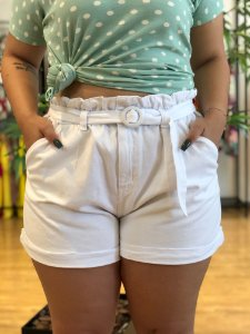 Short Paris Super Branco