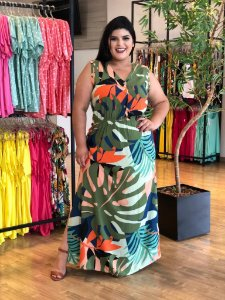 Vestido Long Future Plus Size