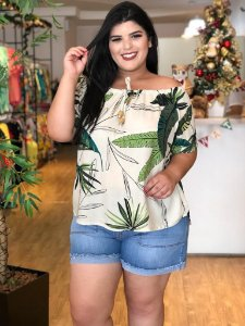 Blusa Supreme Plus Size