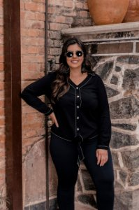 Camisa  Winter Black