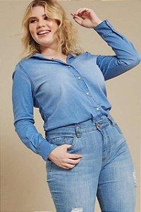 Camisa Jeans Tensel