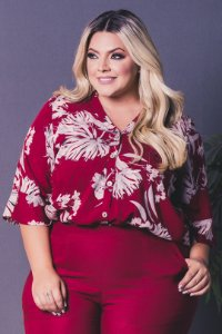 Camisa Amore Plus Size
