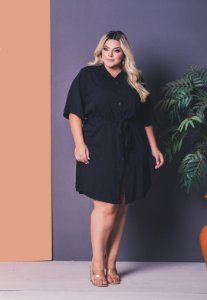 Vestido Essence Black Plus Size