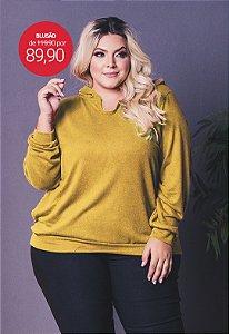 Blusão Plus Size de Lanzinha Gold