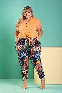 Blusa Bella Plus Size (Viscose com Elastano)