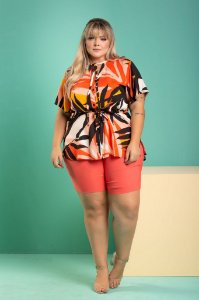 Blusa Collection Plus Size