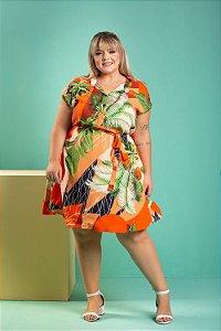 Vestido Gloss Plus Size