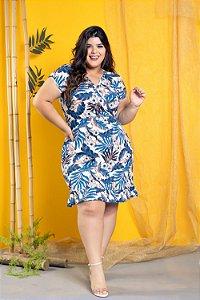 Vestido Blue Tropical