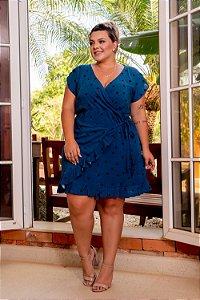 Vestido Forest Blue de Poá