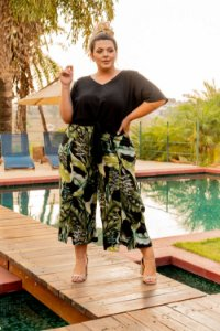 Calça Nature Green Plus Size