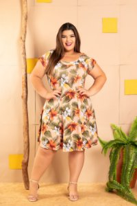 Vestido Pérola Plus Size
