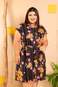 Vestido New Violet Plus Size