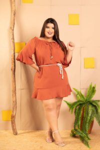 Vestido Megan Roof Plus SIze