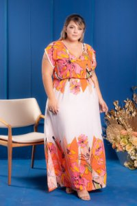 Vestido Long Reveillon Plus Size